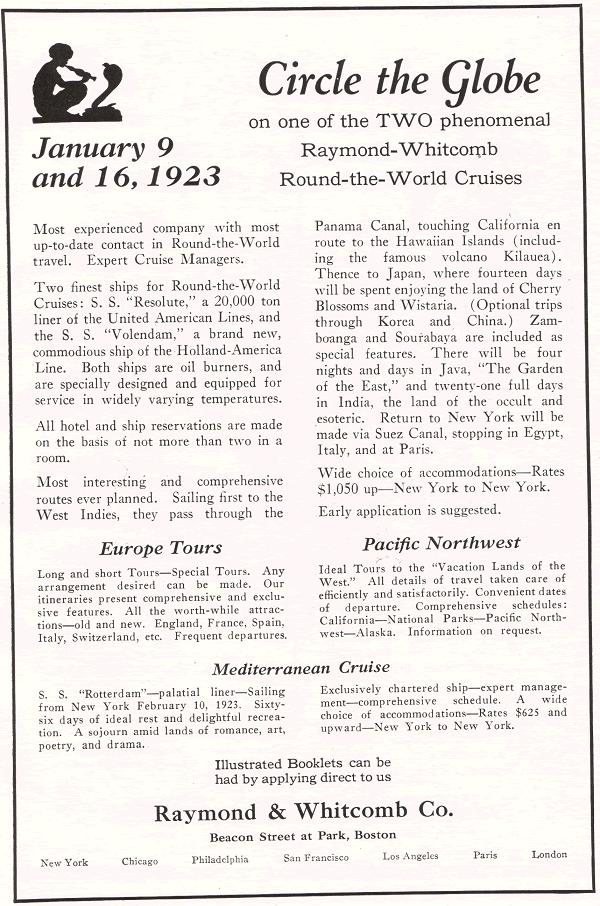 Raymond and Whitcomb Company