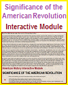 Significance of the American Revolution Interactive Module