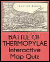 Battle of Thermopylae Interactive Map Quiz