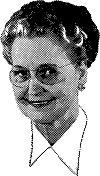 elderly librarian