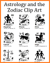 Astrology and the Zodiac Clip Art