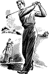 golf swing pose