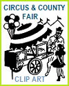 Circus and County Fair Clip Art Gallery