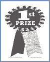First Prize Ribbon