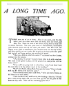 A Long Time Ago Short Story Worksheets