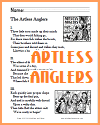 The Artless Anglers Poem Worksheets