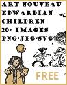 Art Nouveau Edwardian Childhood Images - Free Vector Files