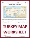 Turkey Map Worksheet