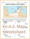 U.A.E. Map Worksheet