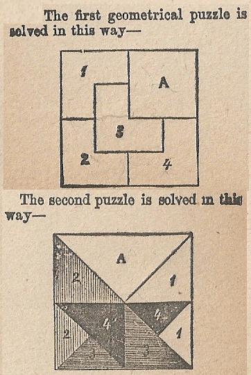 Geometric Puzzle Answers