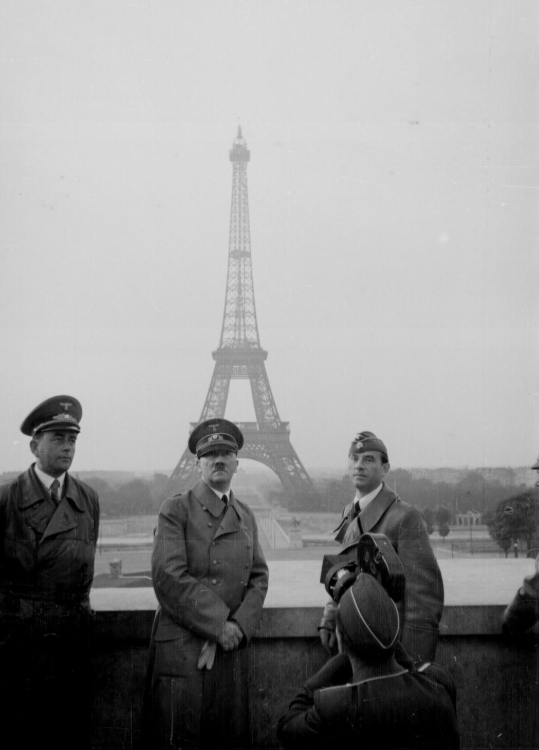 82 Adolf Hitler In Paris France June 23 1940 World War II on High School German Textbook