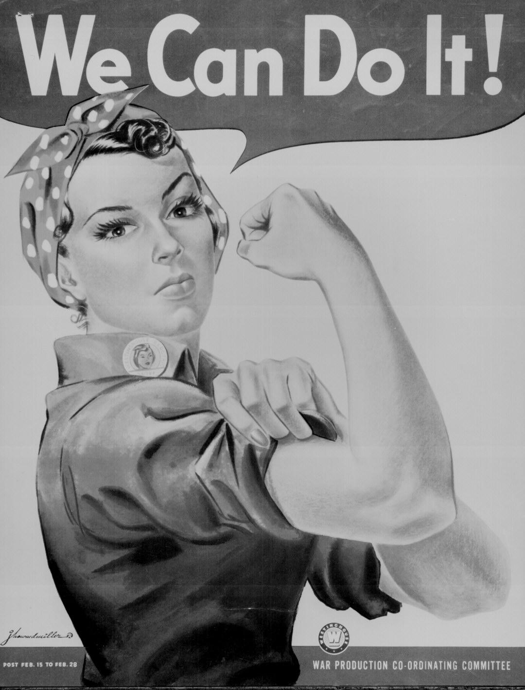 Rosie the Riveter World War II Poster : Student Handouts