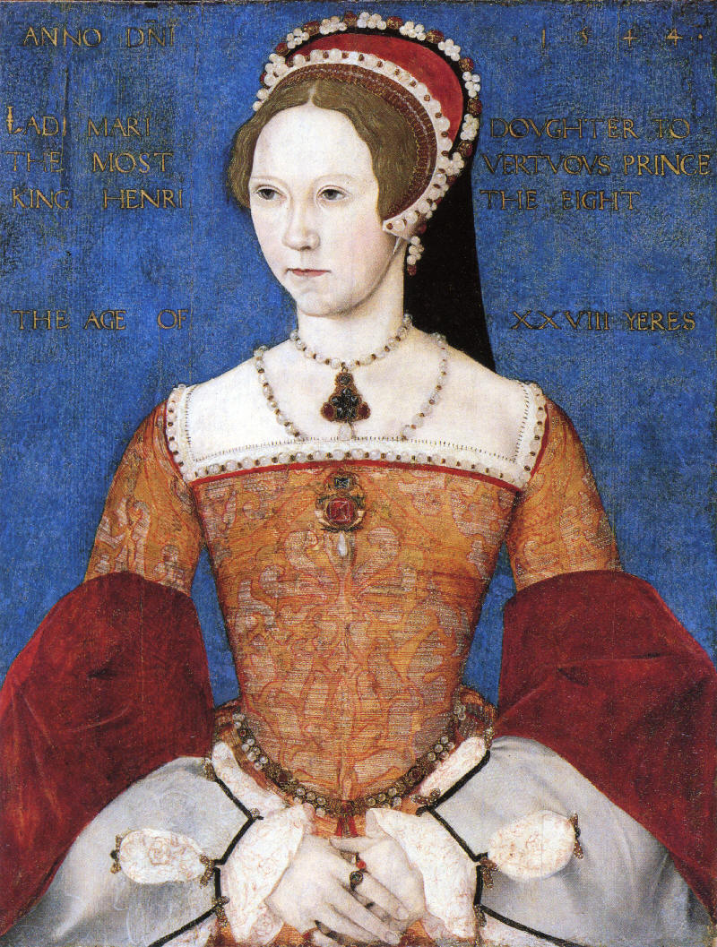 "Mary I of England - Known to History as ""Bloody Mary"" - House of Tudor ..."
