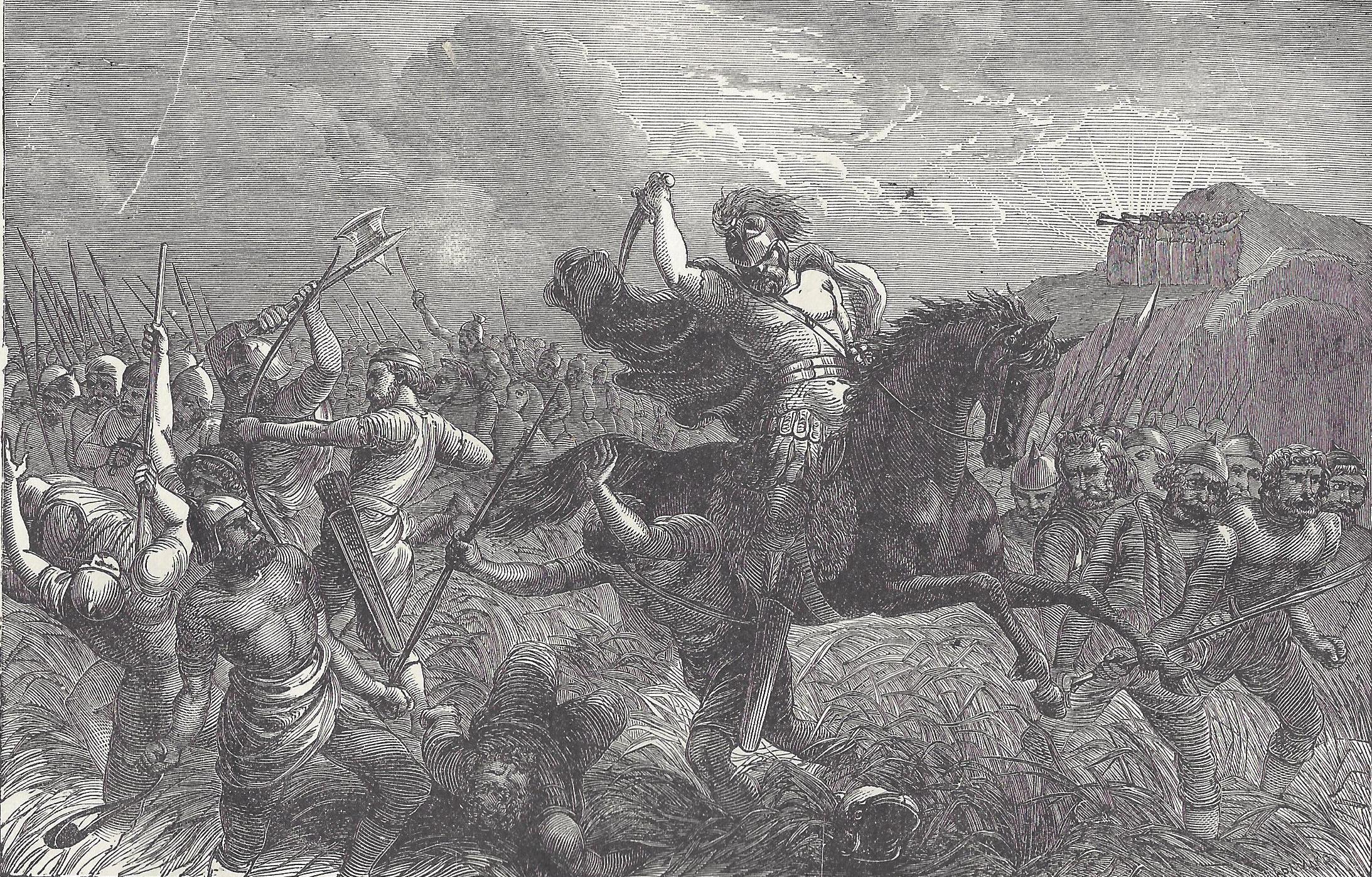 joshua at the battle of bethoron