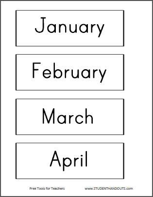 DIY Bulletin Board Calendar - Free printables and instructions.