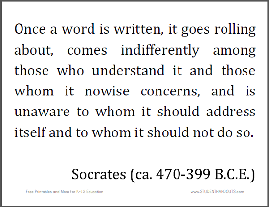 Socrates writings pdf