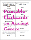 """The Glory That Was Greece"" Printable Trivia Cards"