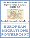 The Barbarian Invasions: The Migration Period in Europe, 300-700 C.E. - PowerPoint Presentation