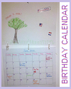 DIY Birthday Calendar Project