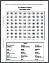 columbian exchange word search puzzle. Black Bedroom Furniture Sets. Home Design Ideas