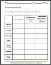 constitutional principles blank chart worksheet. Black Bedroom Furniture Sets. Home Design Ideas