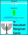 Hanukkah Hangman-style Energy Saver Game