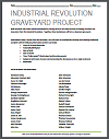 Industrial Revolution Graveyard Project with Instructions and Grading Rubric