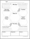 Mindfulness Weekly Planner for Students