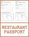 Restaurant Passport Project