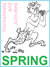 Spring Season Worksheets and Activities