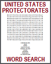 United States Protectorates Word Search