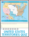 Territorial Acquisitions since 1783 Interactive Map Quiz