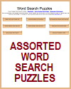 Assortment of Word Search Puzzles