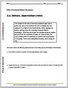 D.A. Hobson on Imperialism (1902) DBQ Worksheet