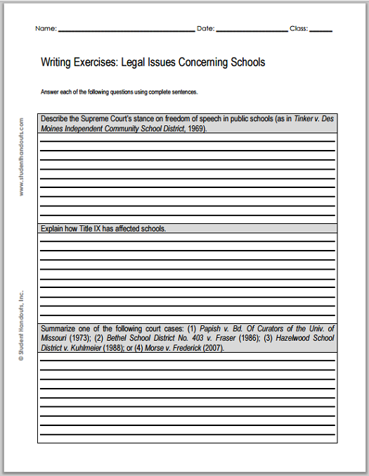 current legal issue essay The complete print edition of each issue of counseling today is  to know about legal issues  current about legal and ethical issues is just as important as.