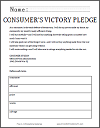 consumer 39 s victory pledge primary source dbq worksheet. Black Bedroom Furniture Sets. Home Design Ideas