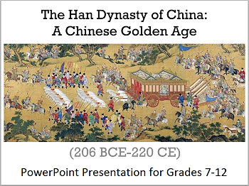 Han Dynasty of China: A Chinese Golden Age, 206 BCE-220 CE - PowerPoint Presentation