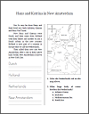 Hans and Katrina in New Amsterdam - Workbook for Lower Elementary Grades 1-3
