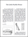 The Little Pueblo Prince and the Seven Cities of Gold Workbook