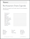 Northeastern US Geography - Free Educational Materials