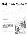 Olaf and Snorri, Vikings in America Workbook
